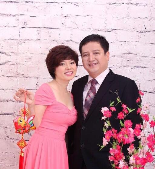 """Chị Ngọc Huyền cùng chương trình truyền hình trực tiếp """"Phụ nữ và tuổi xuân"""""""