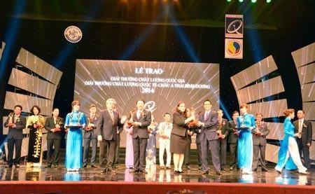2 Năm Nhận Giải Vàng Chất lượng Quốc Gia - Tạo Nên Giá Trị Bền Vững