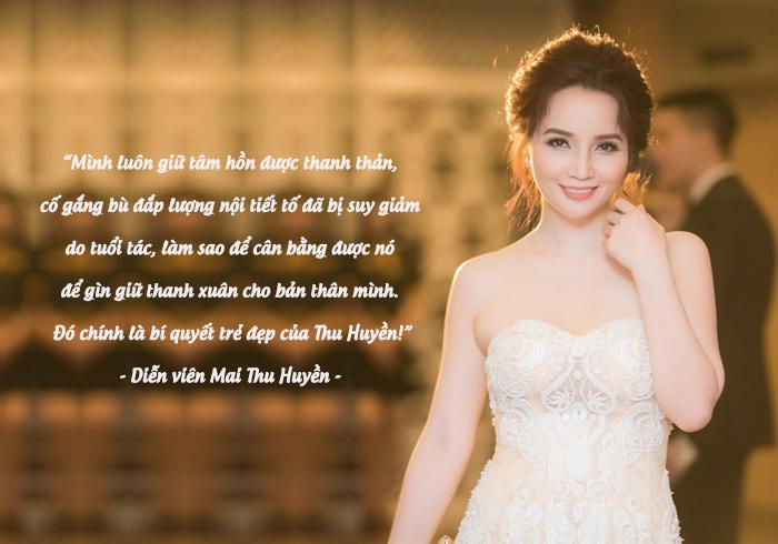 Diễn viên - Nữ doanh nhân Mai Thu Huyền