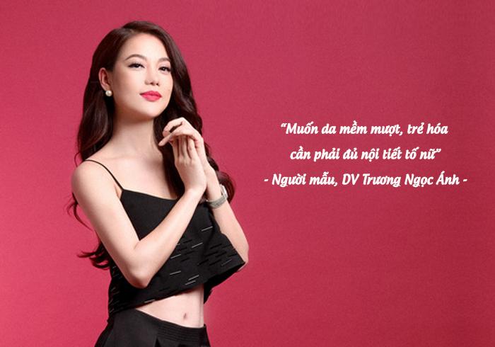 Người mẫu – Diễn viên Trương Ngọc Ánh