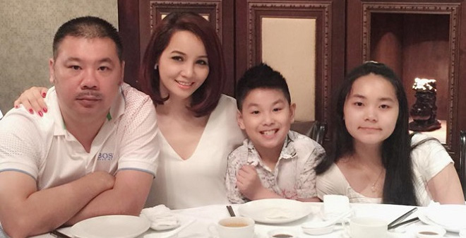 Gia đình hạnh phúc của DV Mai Thu Huyền