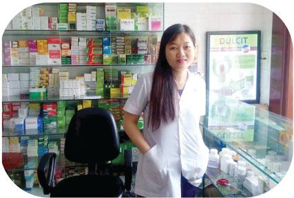 Chị Nguyễn Thị Năm chia sẻ về niềm vui sướng sau khi dùng bảo xuân