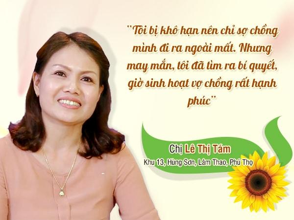 Chị Lê Thị Tám, Khu 13, Hùng Sơn, Lâm Thao, Phú Thọ