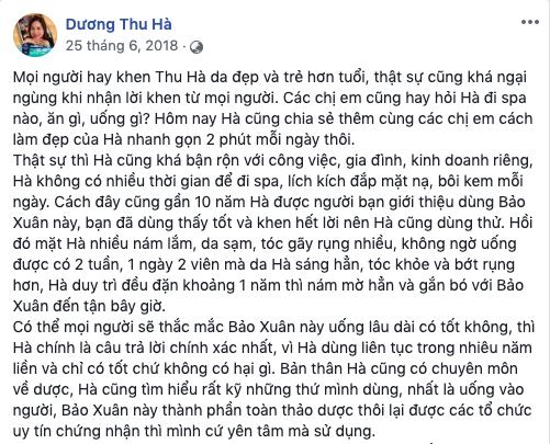 Chị Dương Thu Hà