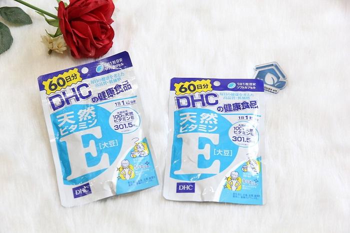 Viên uống Vitamin E DHC của Nhật Bản được làm từ tự nhiên