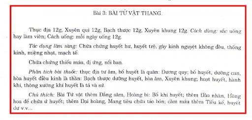 Trích nội dung trang 329, Sách YHCT - Trường ĐH Y Hà Nội – NXB Y học