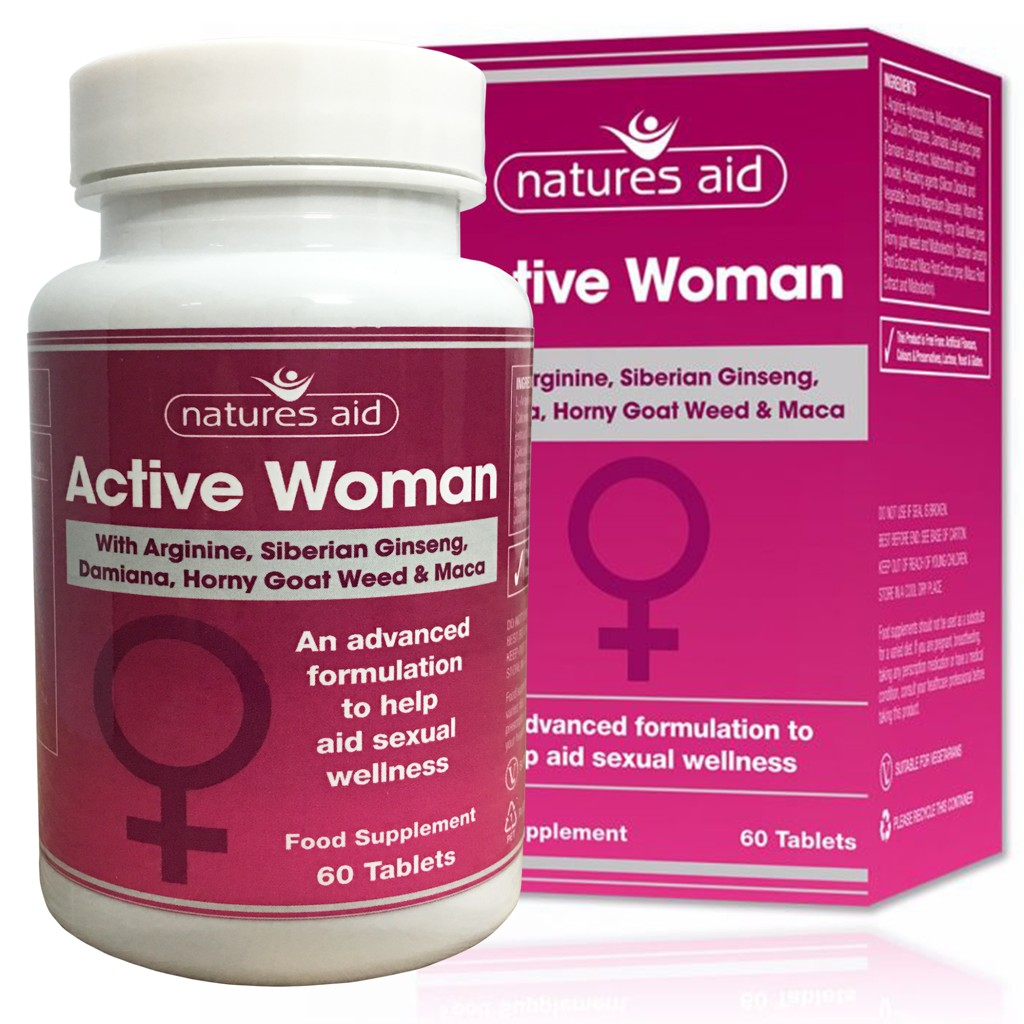 Viên uống Natures Aid Active Woman