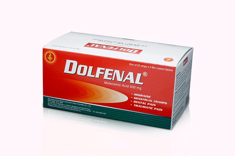 Thuốc dolfenal giúp giảm đau bụng kinh hiệu quả