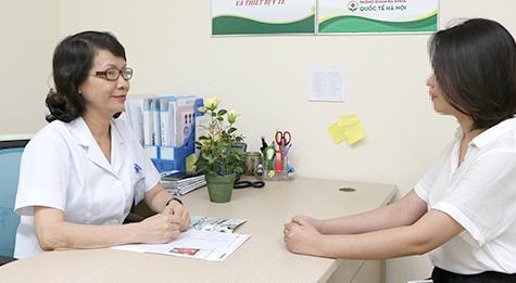 Bác sĩ Trần Thúy Vân chuyên ngành sản phụ khoa tại bệnh viên Từ Dũ