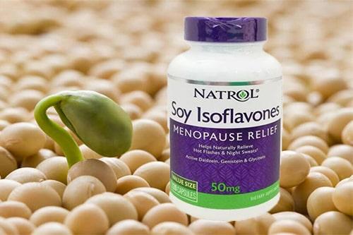 Viên uống Natrol Soy Isoflavones của mỹ